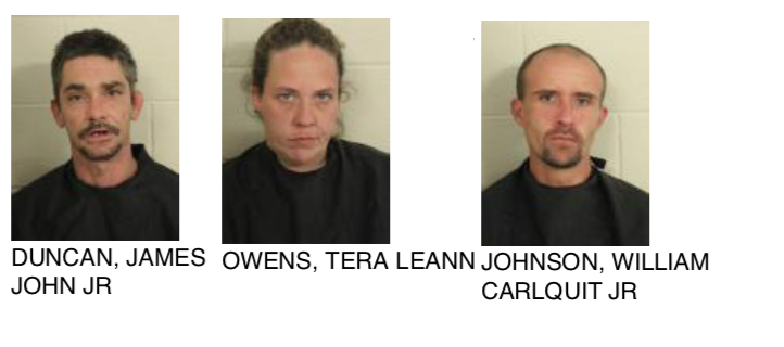 Three Individuals Caught Stealing A Package