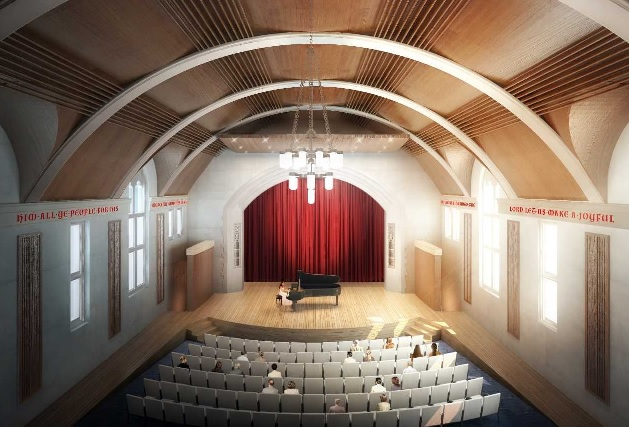 Momentum builds for Ford Auditorium renovation with announcement of first major project naming