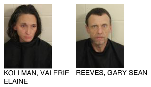 Two Individuals Found With Methamphetamine