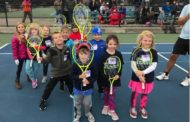 Johnson Elementary and Glenwood Primary winners of the Fall 2018 Teach Me Tennis tournament