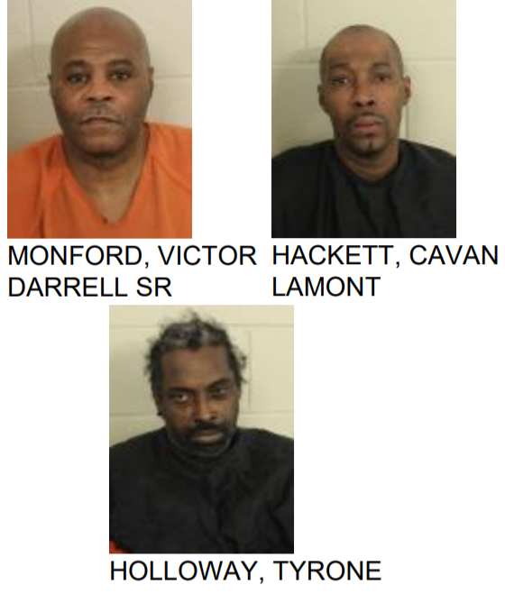 Three Arrested After Rome Police Find Cocaine During Traffic Stop