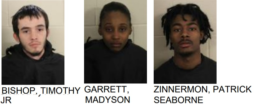 Rome Men and Woman Break into Car, Found with Stolen Items and Drugs