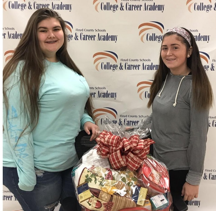 Floyd County CCA Students Support Local Habitat for Humanity