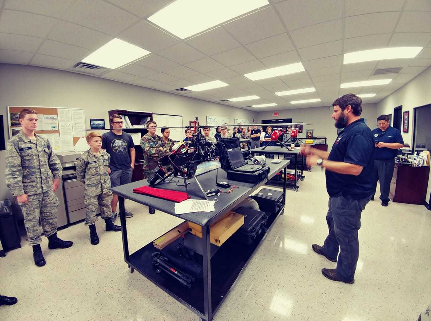 GNTC Aviation Maintenance Technology alum  finds success in unmanned aircraft industry