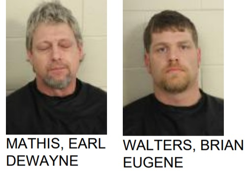 Silver Creek Men Found with Meth and Marijuana