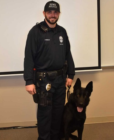 Rome Police Department's K9 Amats to get donation of body armor