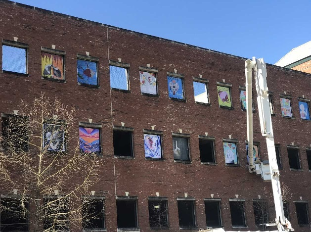 6th Annual Rome Community HeART Project has a New Look