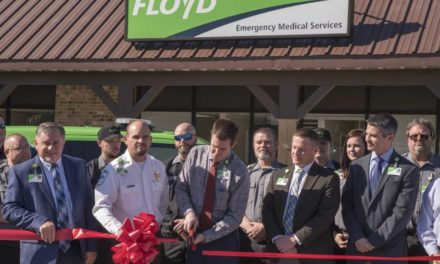 Floyd EMS Opens Third Ambulance Station in Cherokee