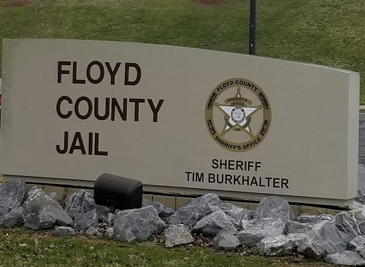 Floyd County Arrest Monday October 14 2019