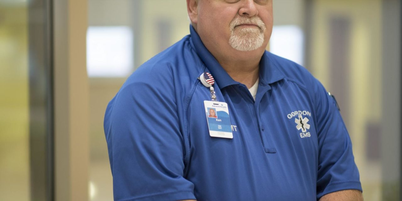 Gordon Hospital Honors Employee with Extra Mile Award