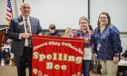 Rome City Schools Hosts System Wide Spelling Bee