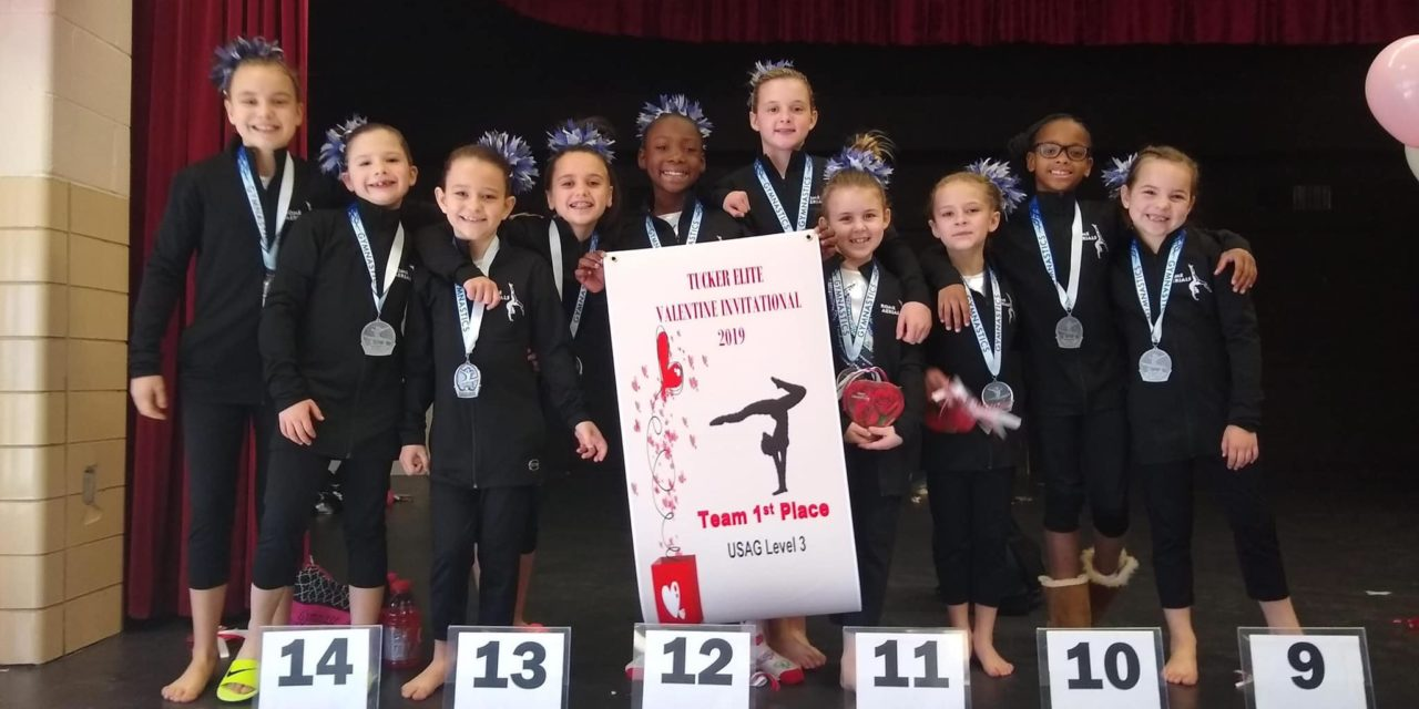 Rome Aerials Gymnasts scored Record High Team Score