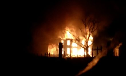 Two Arrested in Silver Creek Mansion Fire for Arson