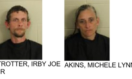 Floyd County Couple Arrested After Theft