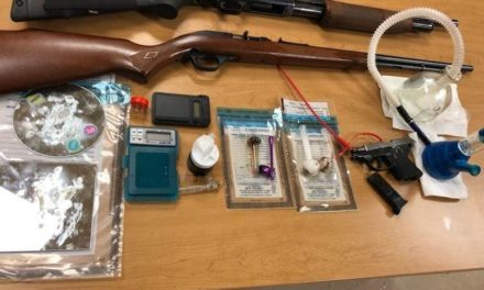 Aragon Police find drugs, guns and explosives at home after Tip