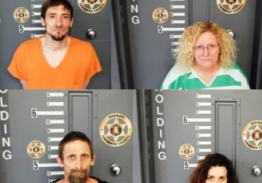 Four Arrested on Drug Charges