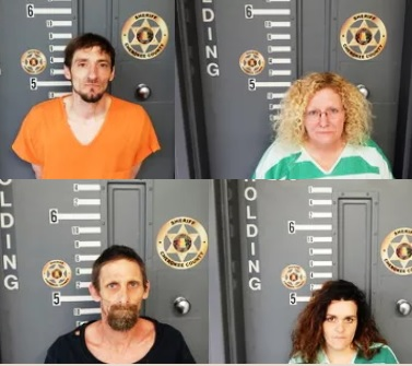 Four Arrested on Drug Charges