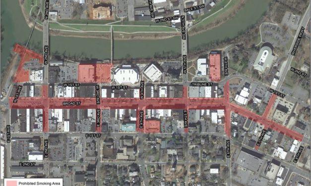Proposed Smoking Ban Downtown Details