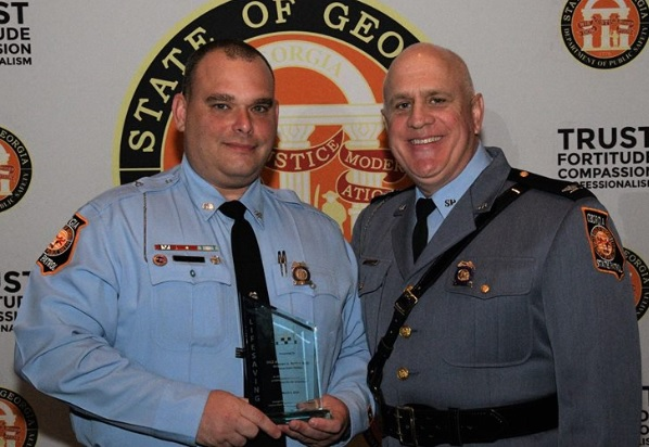 Local GSP Trooper Recognized for Saving Life