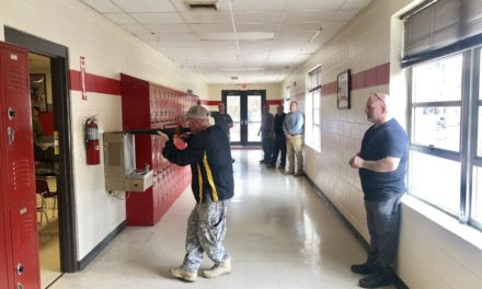 Deputies Train in Cedar Bluff School for Active Threat