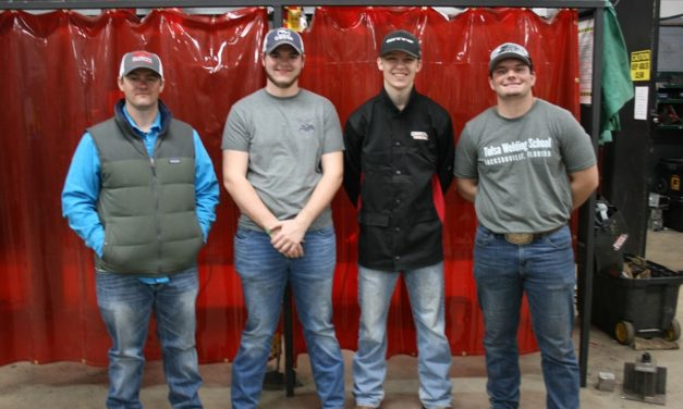 Floyd County CCA Students Place in National Welding Competition