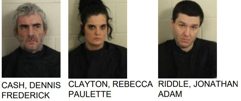 Three Jailed in West Rome Drug Bust