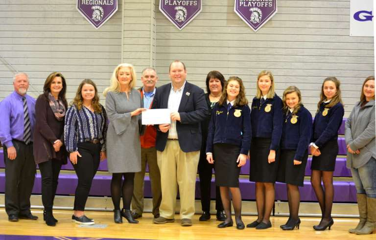 Gaylesville School Receives $3,500 Grant from Coosa Valley Resource Conservation & Development Council for Greenhouse
