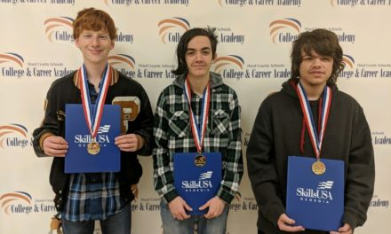 Floyd County College & Career Academy Students Place at SkillsUSA State Leadership Competition