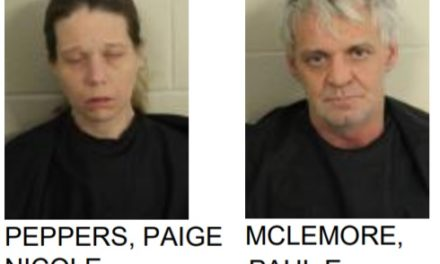 Couple Found with Meth During Search Warrant