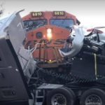 Train Crashes into Car Hauler in Silver Creek