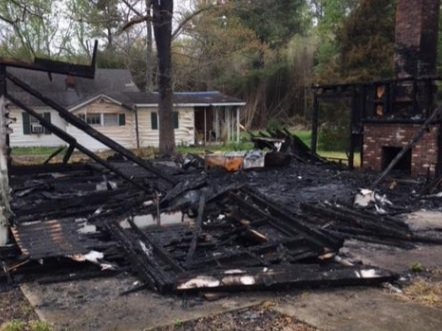 Chattooga County Fire Ruled Arson