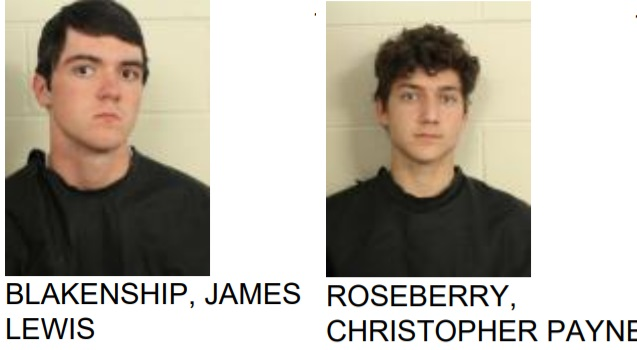 Altercation at Armuchee High School Lands 2 in Jail
