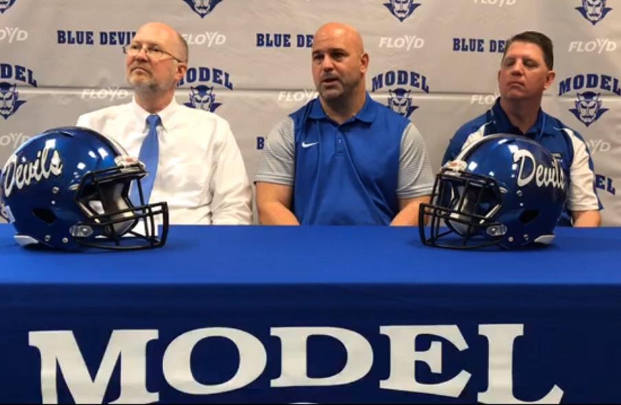 Hunnicutt Named Head Football Coach at Model