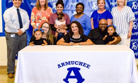 Armuchee Senior Signs to Cheer at Shorter