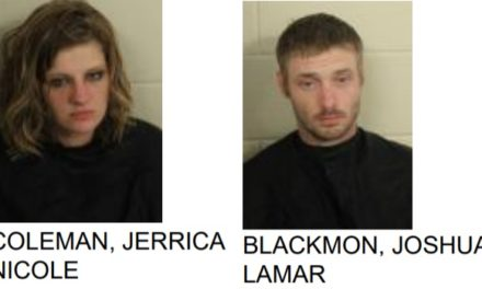 Chattooga County Couple Found with Drugs at Gas Station