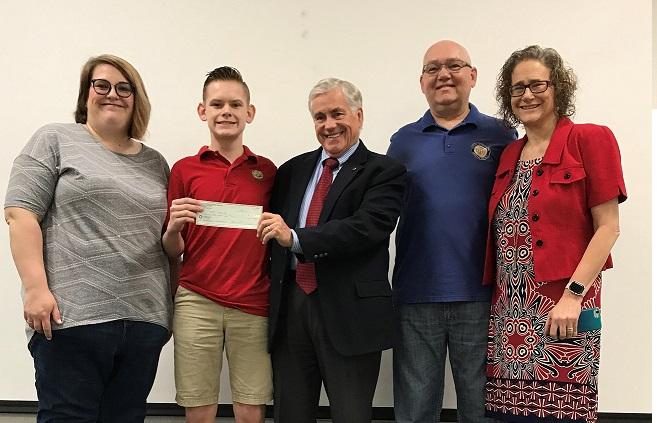 Local student wins District Optimist Contest
