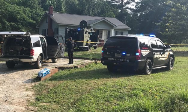 UPDATE: Man Fires at Floyd County Police, SWAT Dispatched