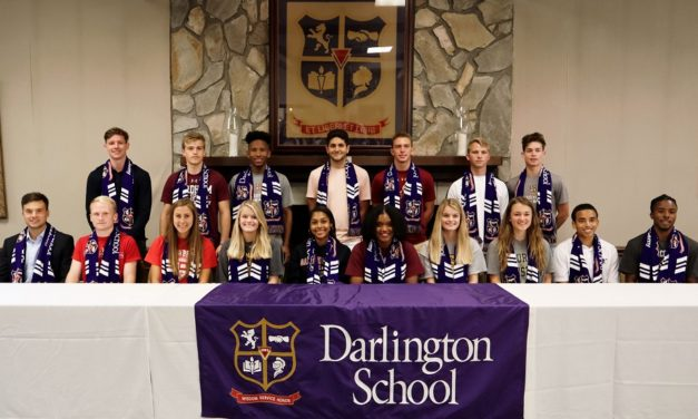 21 Darlington Soccer Academy players sign to play at the collegiate level