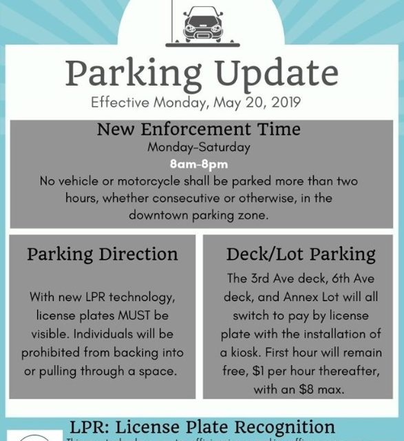 Downtown Rome Issues New Parking Timeframe