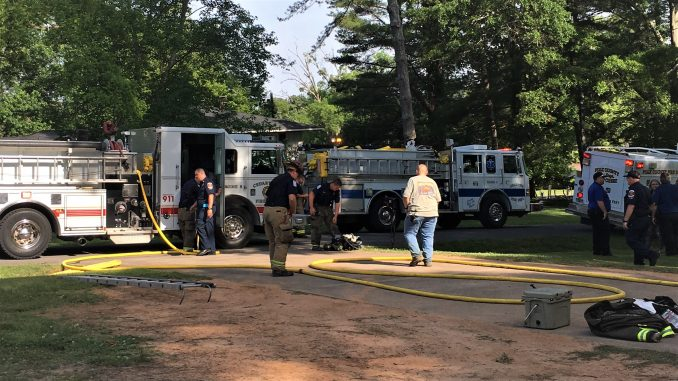 Man Rescused from Cedartown House Fire