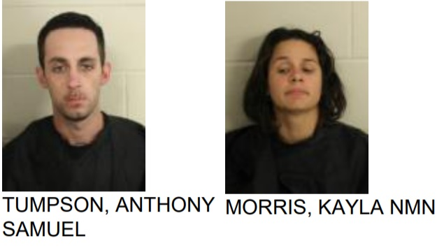 Rockmart Couple Found with Stolen Items in Lindale