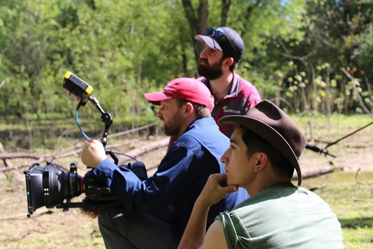 RIFF director films independent short film in Floyd, Gordon, Polk