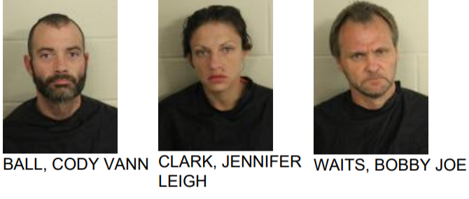 Three Arrested After Police Find Meth