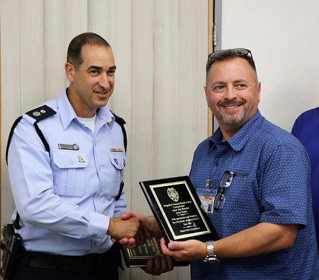 Rome Police Major Returns from Police Leadership Training in Israel