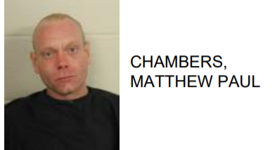 Chambers- Charged with Being Drunk and Disorderly