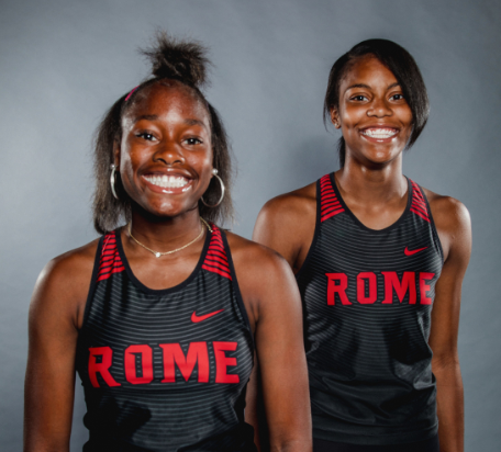 Rome High Track and Field Athletes, Ja'Lia Evans and Ja'Taria Jackson,  Prepare for Nationals