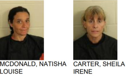 Women Arrested After Burglary