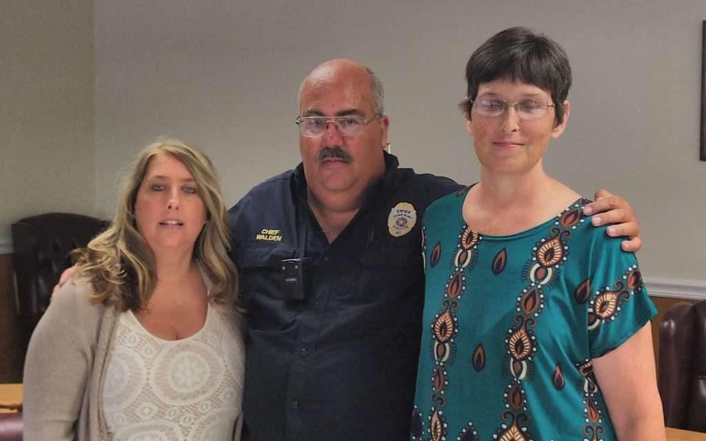 Cedar Bluff Police Chief Steve Walden Announces His Retirement