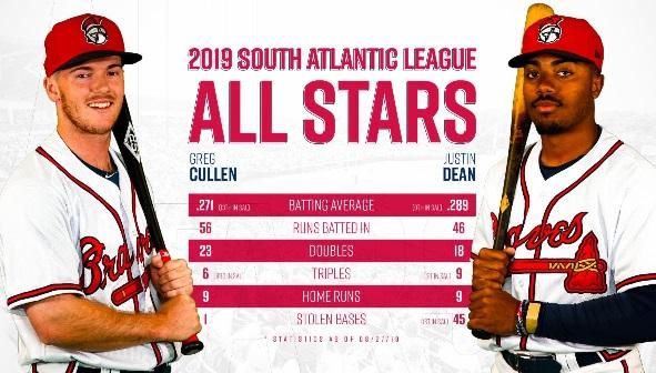 Rome's Cullen, Dean Named All Stars