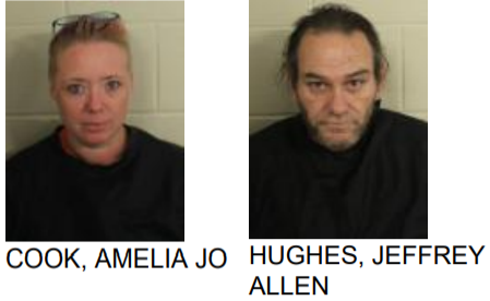 Two Arrested for Drugs in Lindale